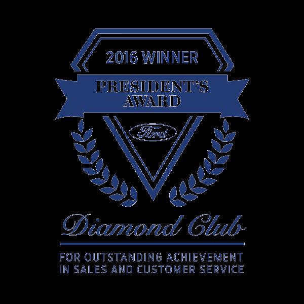 Diamond Winner Presidents Award