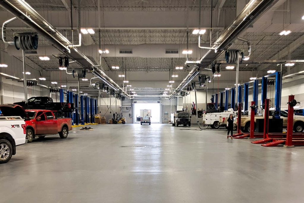 Service Department At Windsor Ford