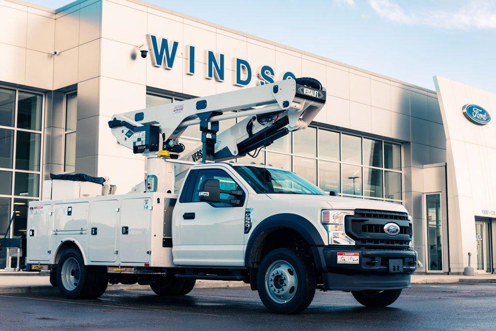Fleet Trucks In Grande Prairie
