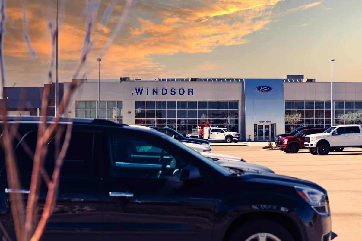 Windsor Ford Purchasing A Vehicle